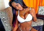Curvy black webcam ladies get down and dirty
